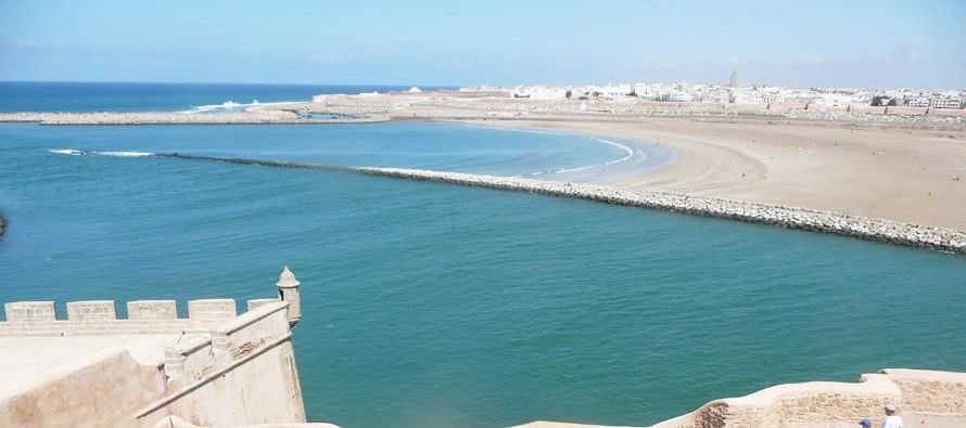 Playas de Sale y Rabat